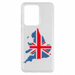 Чехол для Samsung S20 Ultra Флаг Англии