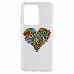 Чохол для Samsung S20 Ultra Flower heart