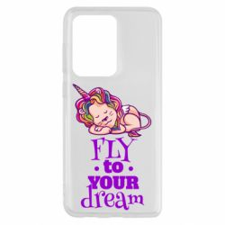 Чохол для Samsung S20 Ultra Fly to your dream and lion
