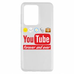 Чохол для Samsung S20 Ultra Forever and ever emoji's life youtube