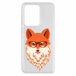 Чехол для Samsung S20 Ultra Fox with a mole in the form of a heart