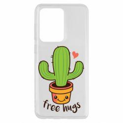 Чохол для Samsung S20 Ultra Free Hugs Cactus