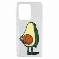 Чохол для Samsung S20 Ultra Funny avocado