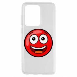 Чохол для Samsung S20 Ultra Funny Red Ball