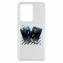 Чехол для Samsung S20 Ultra Gambling Cards The Witcher and Cyrilla
