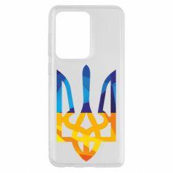 Чехол для Samsung S20 Ultra Герб из ломанных линий