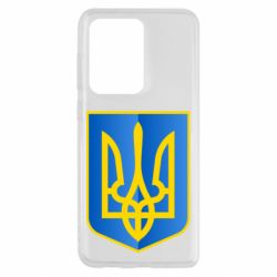 Чехол для Samsung S20 Ultra Герб України 3D