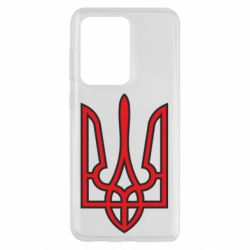 Чохол для Samsung S20 Ultra Герб України (двокольоровий)