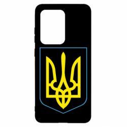 Чохол для Samsung S20 Ultra Герб України з рамкою