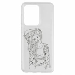 Чехол для Samsung S20 Ultra Girl with dreadlocks