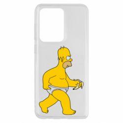Чохол для Samsung S20 Ultra Гомер Сімпсон в трусиках