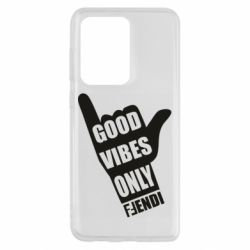 Чохол для Samsung S20 Ultra Good vibes only Fendi