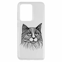 Чохол для Samsung S20 Ultra Graphic cat