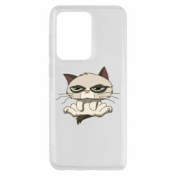 Чохол для Samsung S20 Ultra Grumpy Cat Art nope