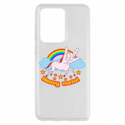 Чехол для Samsung S20 Ultra Heavy metal unicorn