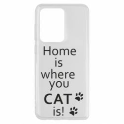Чохол для Samsung S20 Ultra Home is where your Cat is!