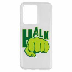 Чехол для Samsung S20 Ultra Hulk fist