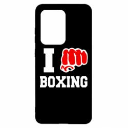 Чохол для Samsung S20 Ultra I love boxing