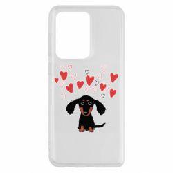 Чохол для Samsung S20 Ultra I love dachshund