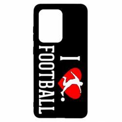 Чохол для Samsung S20 Ultra I love football