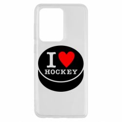 Чохол для Samsung S20 Ultra I love hockey