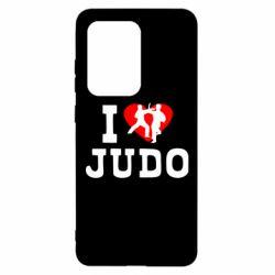 Чохол для Samsung S20 Ultra I love Judo