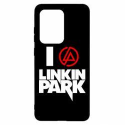 Чехол для Samsung S20 Ultra I love Linkin Park