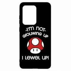 Чехол для Samsung S20 Ultra I'm not growing up, i level up
