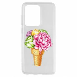 Чохол для Samsung S20 Ultra Ice cream flowers