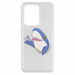 Чехол для Samsung S20 Ultra Ikea Shark Blahaj