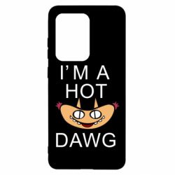 Чехол для Samsung S20 Ultra Im hot a dawg