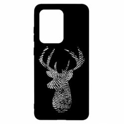 Чохол для Samsung S20 Ultra Imprint of human skin in the form of a deer