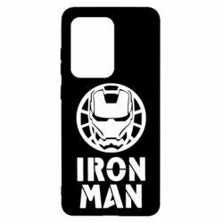 Чохол для Samsung S20 Ultra Iron man text