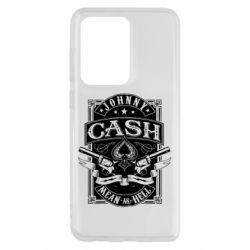 Чохол для Samsung S20 Ultra Johnny cash mean as hell