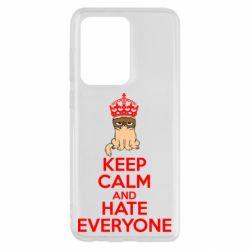 Чохол для Samsung S20 Ultra KEEP CALM and HATE EVERYONE