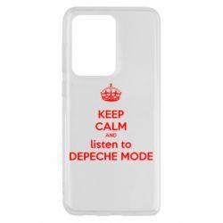 Чохол для Samsung S20 Ultra KEEP CALM and LISTEN to DEPECHE MODE