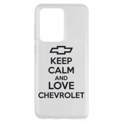 Чохол для Samsung S20 Ultra KEEP CALM AND LOVE CHEVROLET