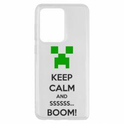 Чохол для Samsung S20 Ultra Keep calm and ssssssss...BOOM!