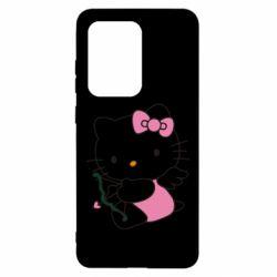 Чехол для Samsung S20 Ultra Kitty амурчик