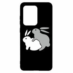 Чохол для Samsung S20 Ultra Кролики