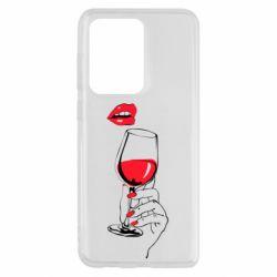 Чохол для Samsung S20 Ultra Lady is drinking