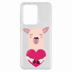 Чохол для Samsung S20 Ultra Lama with heart