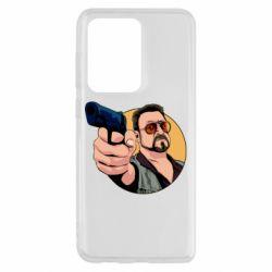 Чохол для Samsung S20 Ultra Лебовськи з пістолетом