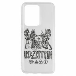 Чехол для Samsung S20 Ultra Led-Zeppelin Art