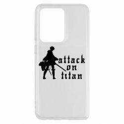 Чохол для Samsung S20 Ultra Levi from Attack on Titan