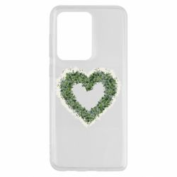 Чехол для Samsung S20 Ultra Lilies of the valley in the shape of a heart