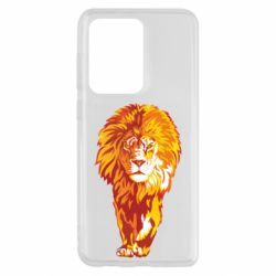 Чохол для Samsung S20 Ultra Lion yellow and red