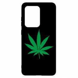 Чохол для Samsung S20 Ultra Листочок марихуани