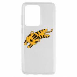 Чехол для Samsung S20 Ultra Little striped tiger