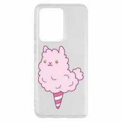 Чехол для Samsung S20 Ultra Llama Ice Cream